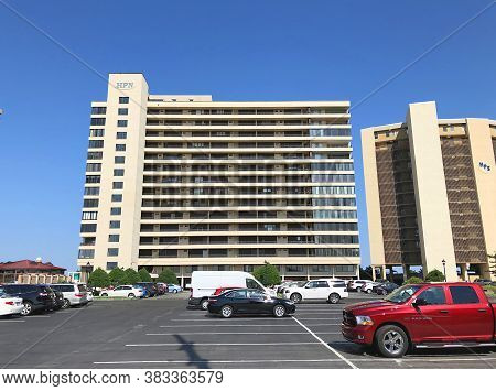 Ocean City, Md: High Point North Beachfront High-rise Condominium Building In North Ocean City (july