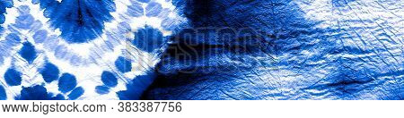 Grunge Banner. Abstract  Light Backgrop. Simple  Watercolour Paint. Neon Dark  And Sapphire Painting