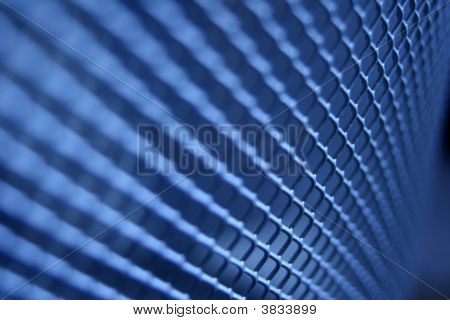 Blue Gridded Texture