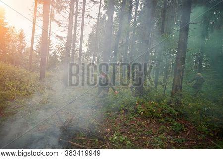 modern warfare marines capture alive terrorist   soldier in forest raid