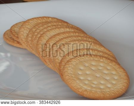 Marie Biscuit(biscoito Maria). Traditional Biscuit From Brazil.
