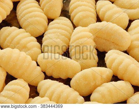 Raw Uncooked Potato Gnocchi (nhoque)