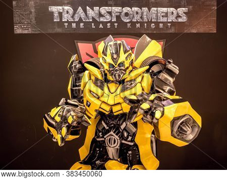June 15, 2017: Bumblebee From Transformers: The Last Knight. It Is The Fifth Installment Of The Live