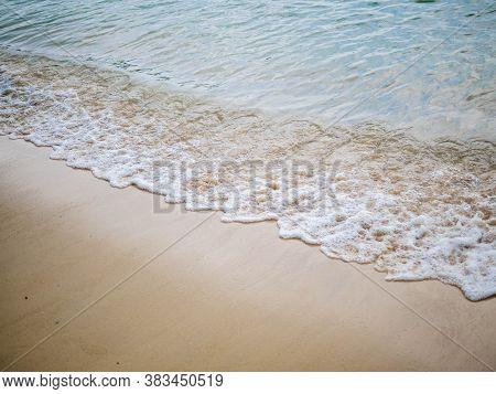 Wave, Beach And Sand.     Wave, Beach And Sand.