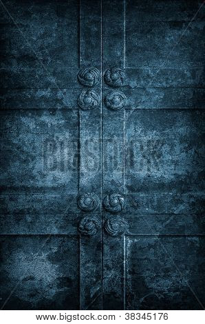 Ancient Church Door