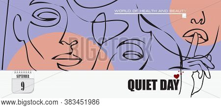Post Card For Event September Day Quiet Day