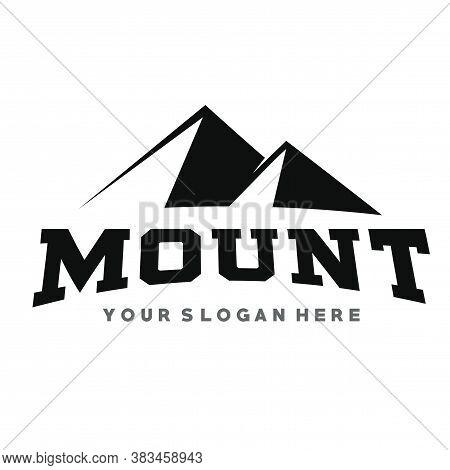 Mountain Logo, Mountain Expedition, Outdoor And Adventure Logo Vector