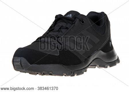 Varna , Bulgaria - August 6, 2020 : Adidas Terrex Hyperhiker Sport Shoe, Isolated. Product Shot. Adi