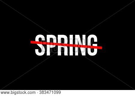 Spring Season. One Of The Four Temperate Seasons. Spring Time