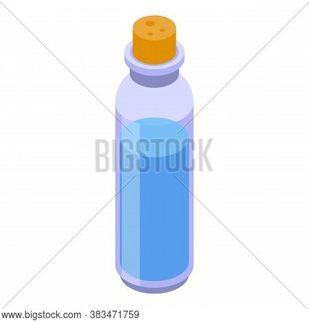 Perfume Essential Oils Icon. Isometric Of Perfume Essential Oils Vector Icon For Web Design Isolated