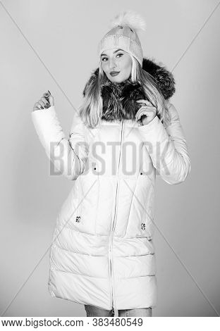 Fashion Coat. Warming Up. Casual Winter Jacket More Stylish Have More Comfort Features. Female Fashi