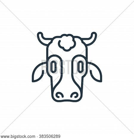 cow icon isolated on white background from holland collection. cow icon trendy and modern cow symbol