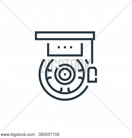 graduation icon isolated on white background from driving school collection. graduation icon trendy