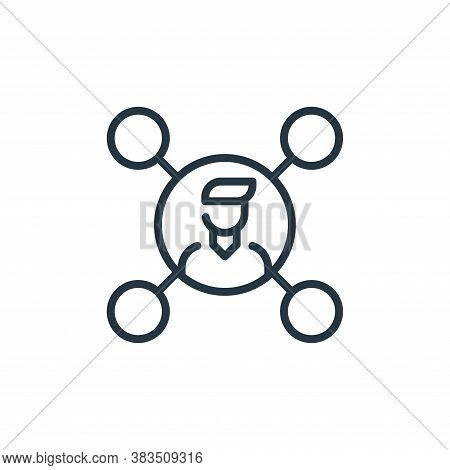 affiliate icon isolated on white background from seo and marketing collection. affiliate icon trendy