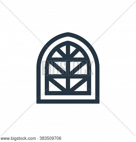 window icon isolated on white background from fairytale collection. window icon trendy and modern wi