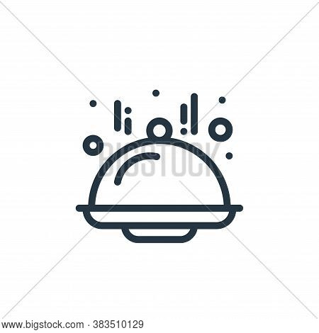 dome icon isolated on white background from food collection. dome icon trendy and modern dome symbol