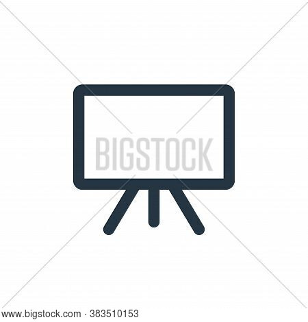 whiteboard icon isolated on white background from school collection. whiteboard icon trendy and mode