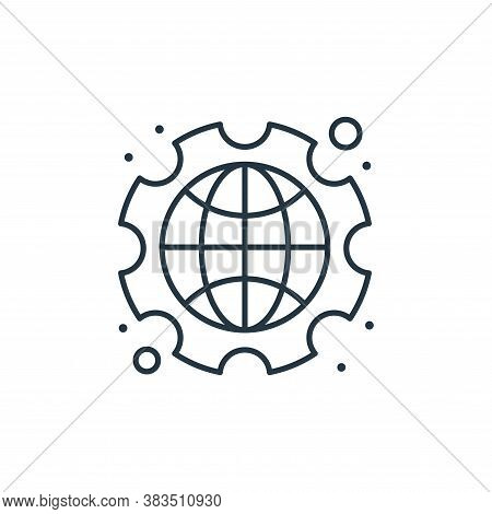 international icon isolated on white background from labour day collection. international icon trend