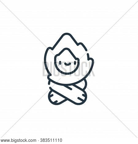 firewood icon isolated on white background from adventure collection. firewood icon trendy and moder