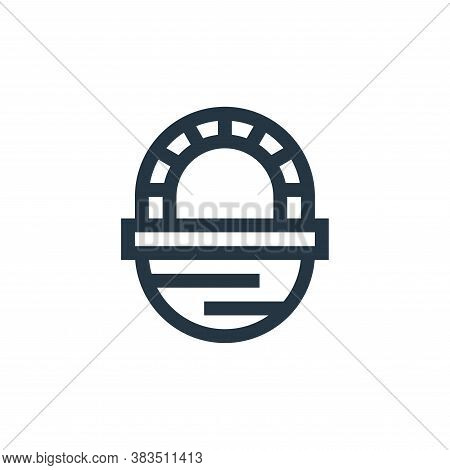 basket icon isolated on white background from handcrafts collection. basket icon trendy and modern b