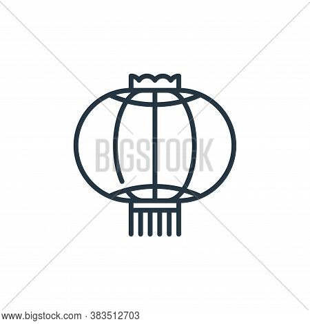 lantern icon isolated on white background from celebration collection. lantern icon trendy and moder