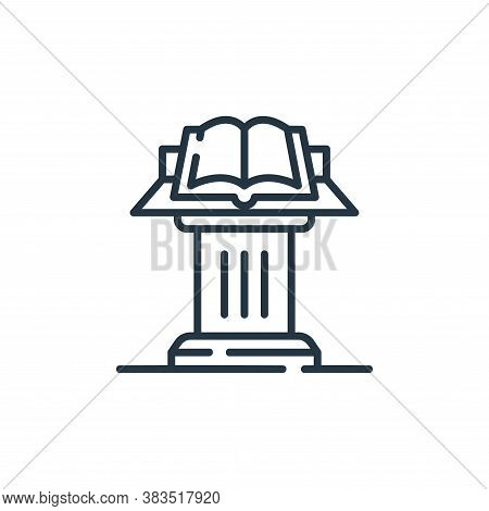 entrance icon isolated on white background from restaurant collection. entrance icon trendy and mode