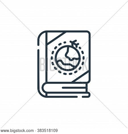travel icon isolated on white background from books and literature collection. travel icon trendy an