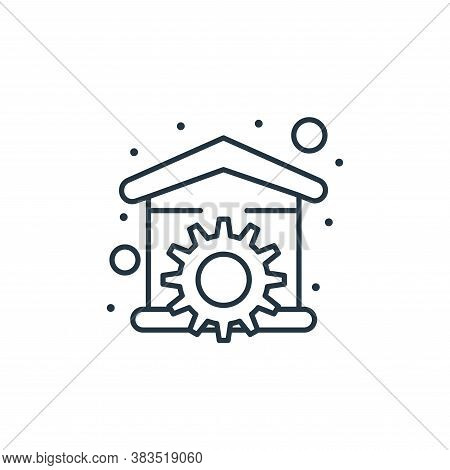 repair icon isolated on white background from labour day collection. repair icon trendy and modern r