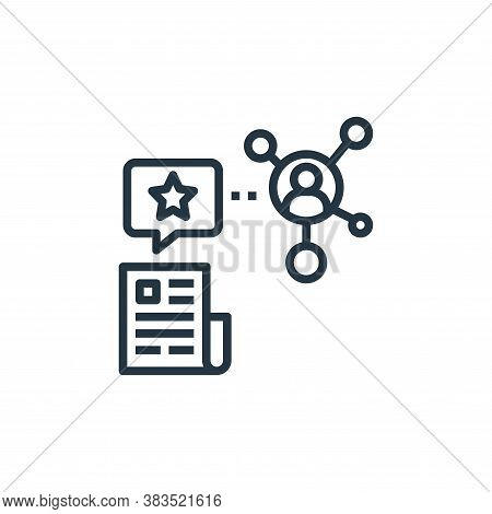 share icon isolated on white background from detecting fake news collection. share icon trendy and m