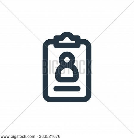 profile icon isolated on white background from business collection. profile icon trendy and modern p