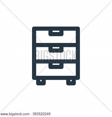 wardrobe icon isolated on white background from school collection. wardrobe icon trendy and modern w