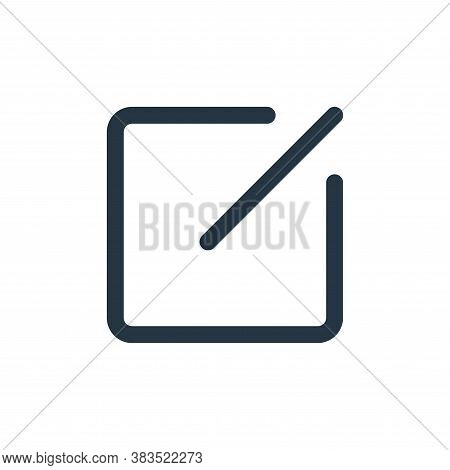 compose icon isolated on white background from email ui collection. compose icon trendy and modern c