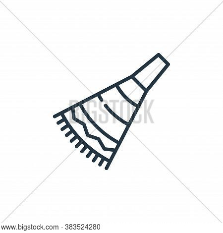 party horn icon isolated on white background from celebration collection. party horn icon trendy and