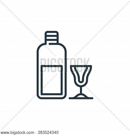 jenever icon isolated on white background from holland collection. jenever icon trendy and modern je