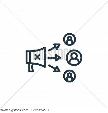 bait icon isolated on white background from detecting fake news collection. bait icon trendy and mod