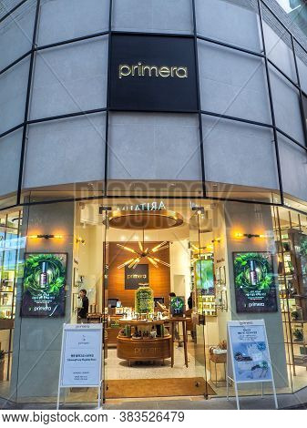 October 2018 - Seoul, South Korea: The Flagship Store Of The South Korean Luxury Brand Primera In My