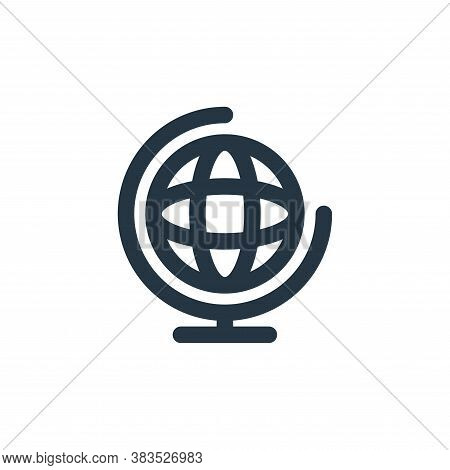 global icon isolated on white background from school collection. global icon trendy and modern globa