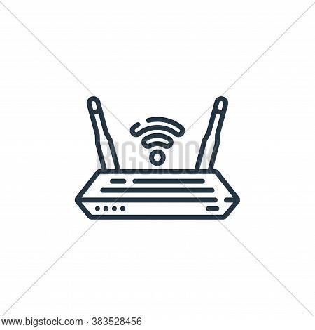 router icon isolated on white background from hardware collection. router icon trendy and modern rou