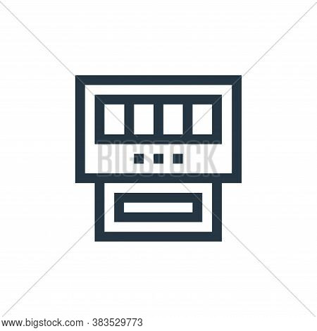 gauge icon isolated on white background from machinery collection. gauge icon trendy and modern gaug