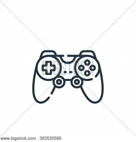 joystick icon isolated on white background from hardware collection. joystick icon trendy and modern