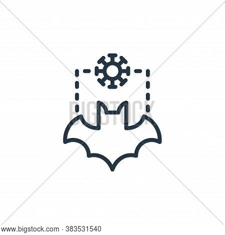 mammal icon isolated on white background from coronavirus collection. mammal icon trendy and modern