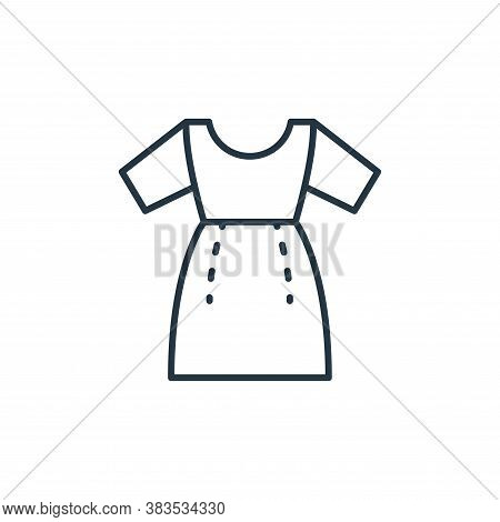 dressmaker icon isolated on white background from sewing collection. dressmaker icon trendy and mode