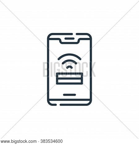 wifi signal icon isolated on white background from office collection. wifi signal icon trendy and mo