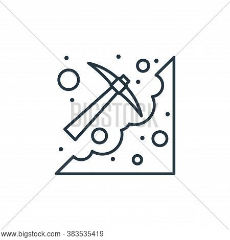 digging icon isolated on white background from labour day collection. digging icon trendy and modern