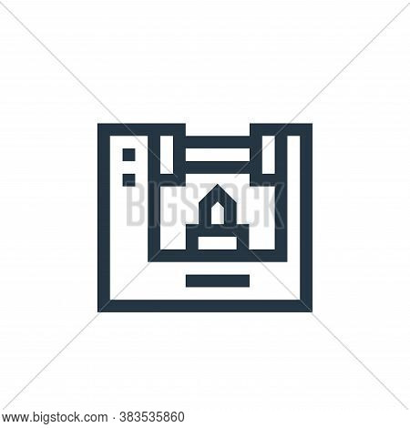 milling machine icon isolated on white background from machinery collection. milling machine icon tr