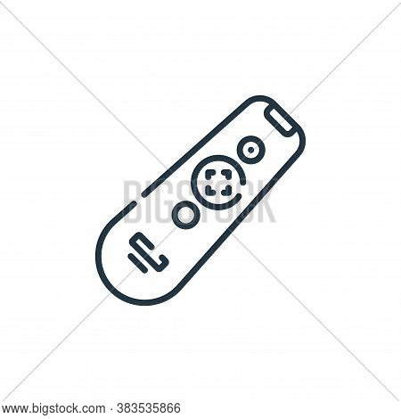 remote control icon isolated on white background from hardware collection. remote control icon trend