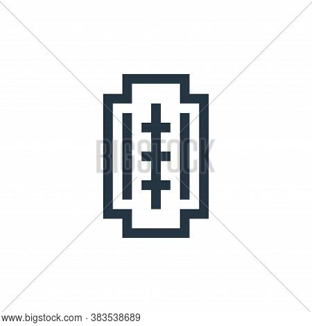 blade icon isolated on white background from handcrafts collection. blade icon trendy and modern bla