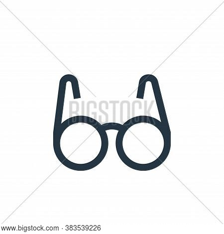 eyeglasses icon isolated on white background from nursing collection. eyeglasses icon trendy and mod