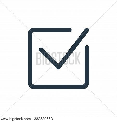 select icon isolated on white background from email ui collection. select icon trendy and modern sel