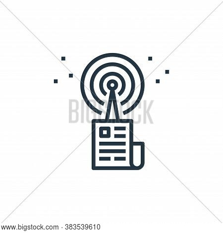source icon isolated on white background from detecting fake news collection. source icon trendy and